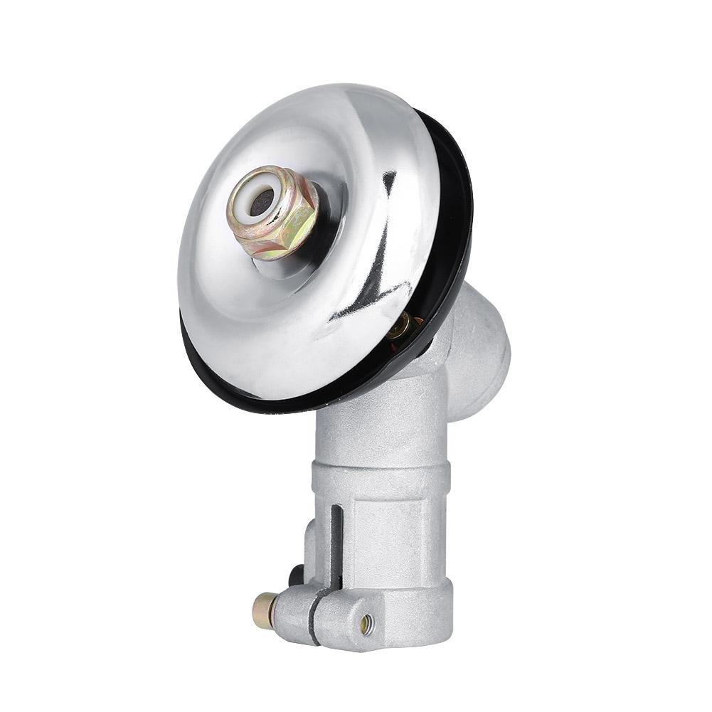 Fdit Testa di Gear la Tosaerba Rotonda di Rod della Testa 26mm di ingranaggio sostituisce la Scatola di velocità di Tosaerba di Prato di Erba di decespugliatore