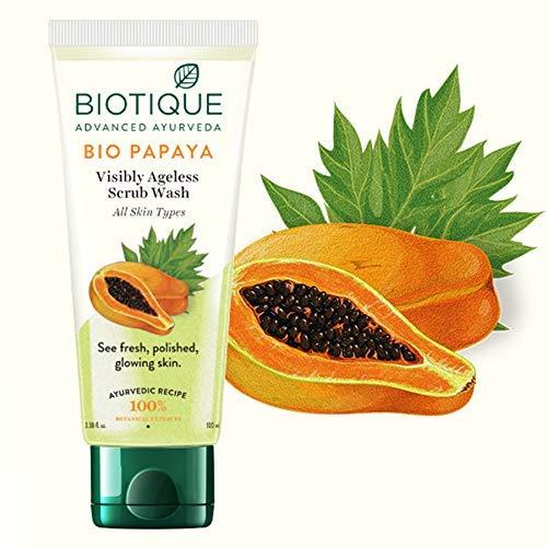Biotique Bio Papaya Exfoliante colada de la cara (100 ml ...
