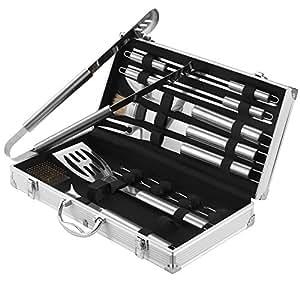 Amazon.com : VonHaus 18-Piece Stainless Steel BBQ