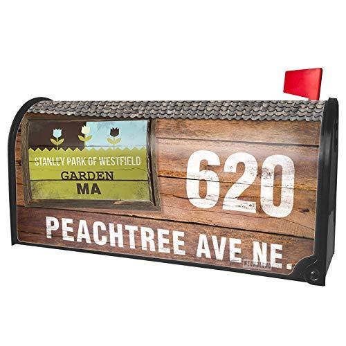 NEONBLOND Custom Mailbox Cover US Gardens Stanley Park