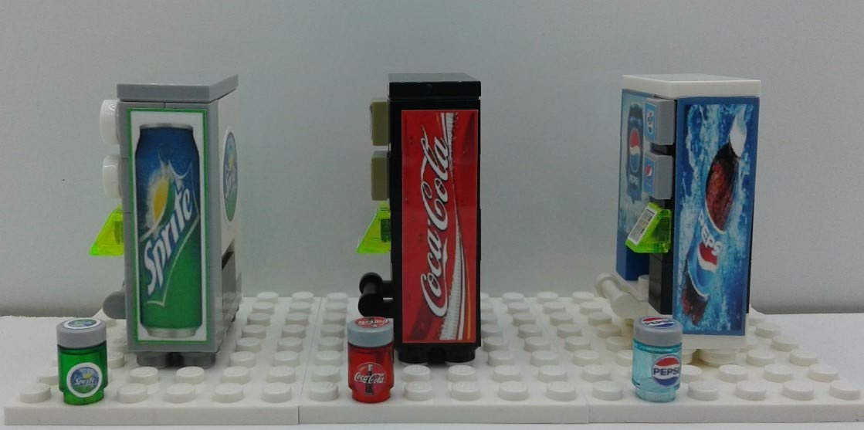 Building Toys Custom soda vending machines Build Bricks Custom Toys /& Hobbies