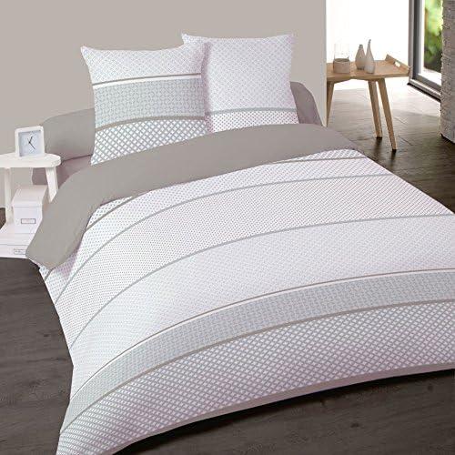 Juego de sábanas de franela (algodón) para cama, modelo Helena 160 ...