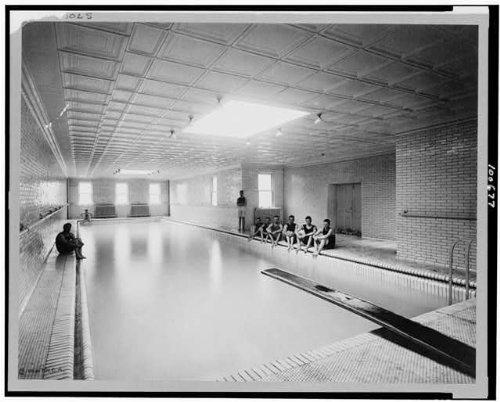 Photo: Indoor YMCA swimming tarn,buildings,interiors,Bellefonte,Pennsylvania,PA,c1912