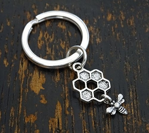 Bee Gift Bumblebee Charm Honeybee Charm Bee Birthday Bee Keychain Honeybee Gift Bee Charm Bumblebee Keychain Bee Pendant Bumblebee Gift Honeybee Keychain Bumblebee Pendant