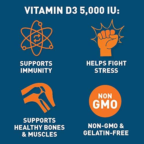 Dr. Tobias Vitamin D-3-5000 IU Supplement, 90 Capsules
