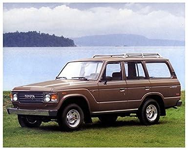 1985 Toyota Land Cruiser 4x4 Factory Photo