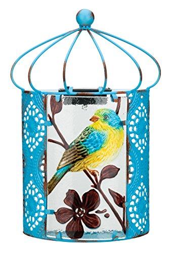 (Regal Art & Gift 11628 Solar Bird Sconce Wall Decor, Blue )