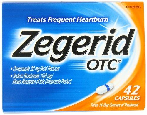 Zegerid OTC Capsules, 42 Count