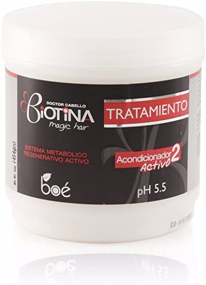 Doctor Cabello Biotina mascarilla para pelo 450 gr - biotina para cabello, biotina caída cabello, tratamiento para el cabello con pro vitaminas, ...