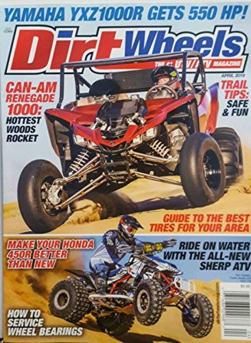 Dirt Wheels Magazine April 2019 UTV ATV Yamaha Honda Trail - Dirt Magazine Wheels