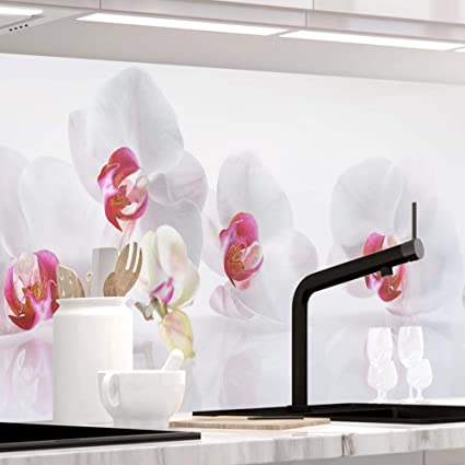Selbstklebende Dekofolie Moderne Klebefolie f/ür die K/üche in verschiedenen Gr/ö/ßen Spritzschutz Herd Hochwertige K/üchenr/ückwand Folie Selbstklebefolie Virgin Optik
