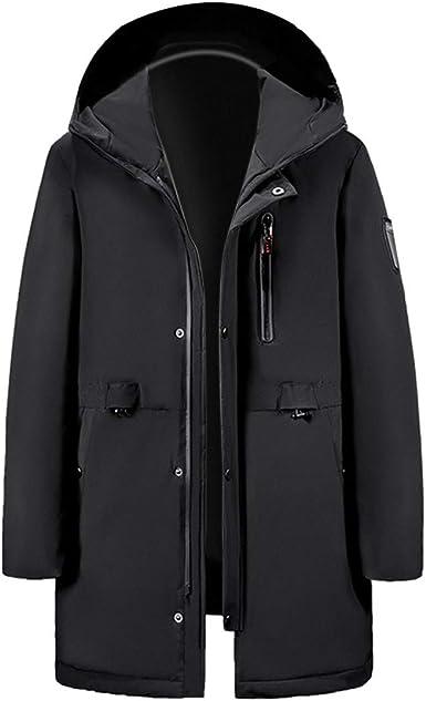 BIKETAFUWY Heated Jackets for Men Electric Heating Windbreaker Smart USB Charger Winter Down Coat Rechargeable Outerwear