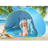 Pop Up Baby Beach Tent Portable Kiddies Shade Pool Tent 50 SPF UV