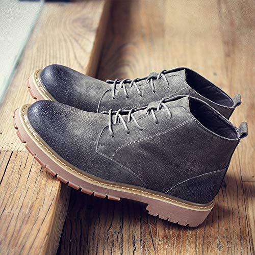 Invierno Zanpa Up Gris hombres Lace Zapatos Moda Zanpa Invierno qXwOtRxP7q 48b5c4