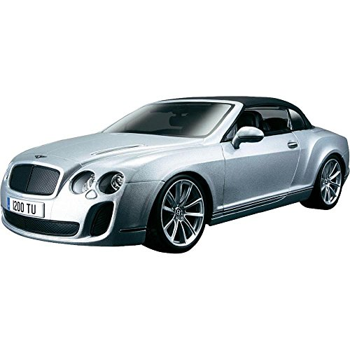 Bburago 1:18 Scale Bentley Continental Supersports Convertible Diecast Vehicle (Bentley Model Car compare prices)