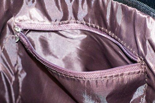 Elegante Modische Damen-Handtasche PU-Leder Weiß Groß Bag Schultertasche Für Frauen Tasche White Ordner