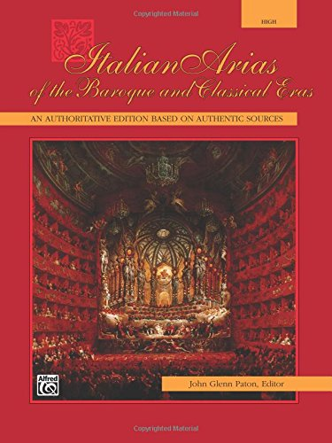 italian arias of the baroque - 1