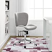 Serta Style Haylie Office Chair, Heather/White