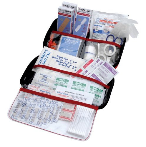 121 Kit (Lifeline AAA 4180AAA 121-Piece Road Trip First Aid Kit)