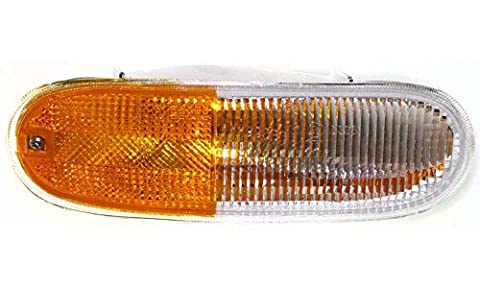 Evan-Fischer EVA23172012993 Turn Signal Light for Volkswagen Beetle 98-05 RH Lens and Housing Replaces Partslink# - Turn Signal Park Light Lamp