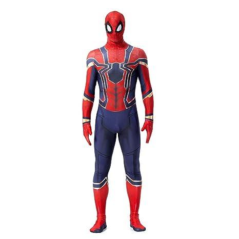ZUOZHE Adulto Spider-Man Superhéroe Cosplay Spider-Man Traje ...