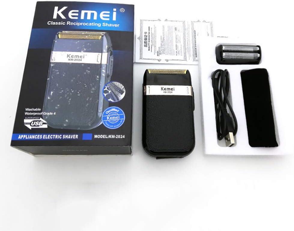 FHZY Kemei New Km-2024 Carga USB Reciprocante Doble Malla ...