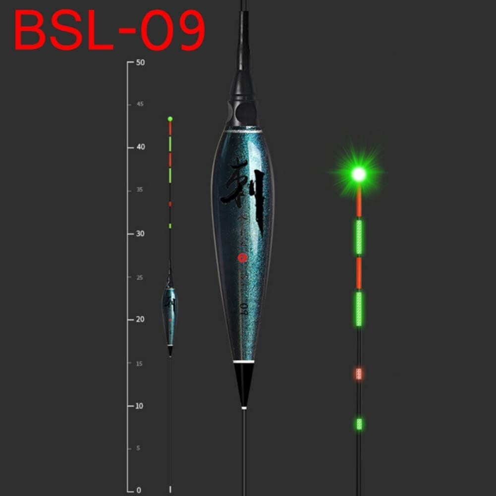 1 Stück Elektronische Schwimmer LED Float Leucht Schwimmer Nacht Angelgerät JE