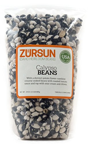 Zursun Heirloom Dry Calypso Beans 24 oz