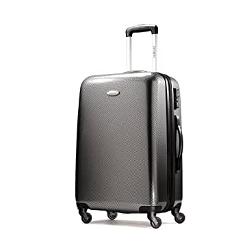 Samsonite Winfield Fashion 28 Inch Spinner Luggage, Check Black/Silver, One Size