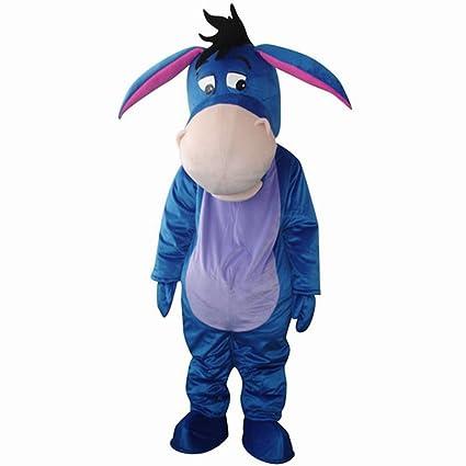 656d2f73b74d Amazon.com   New Eeyore Donkey Winnie the Pooh Friend Mascot Costume EPE    Adult Donkey Costume   Sports   Outdoors