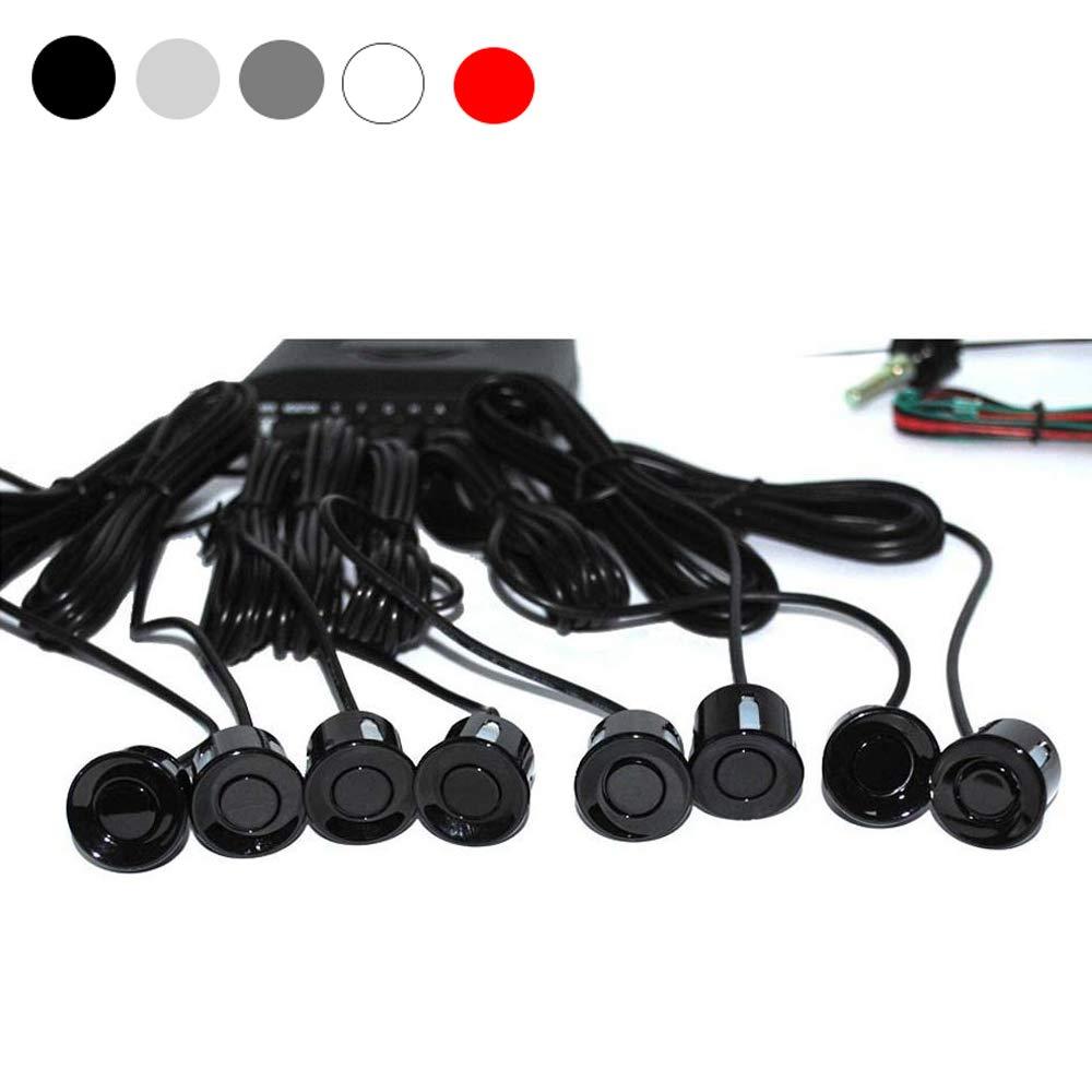 Reverse capteurs de stationnement Zhaoxing Recul Sauvegarde Radar 2,4/G Auto arri/ère Alerte Rappel LED Display /& 8/capteurs pour Une Conduite s/ûre