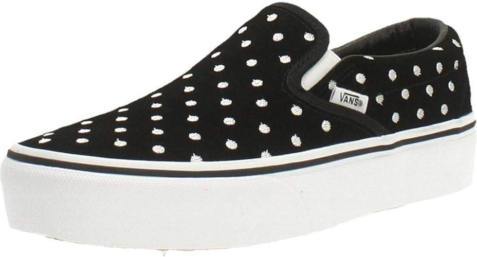 Vans Classic Plataforma para Zapatos (Ante, Lunares
