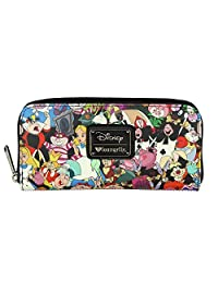 Loungefly Disney Alice In Wonderland Character All Over Print Wallet