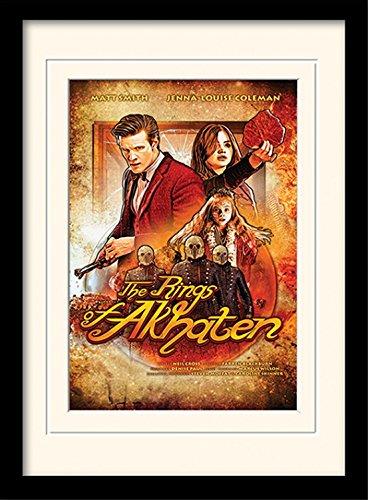 1art1 101661 Doctor Who - Rings of Akhaten Gerahmtes Poster Für Fans Und Sammler 40 x 30 cm