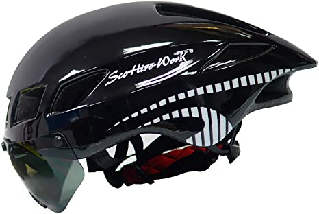 Cascos para hombres y mujeres adultos, cascos para bicicleta ...