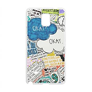 The Fault in Our Stars Okay? Okay Printed Cell Phone Case for Samsung Galaxy Note4