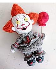 It Pennywise Payaso Eso Amigurumi Tejido A Crochet Halloween