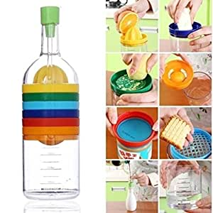 New Hot 8-in-1 Multi-functions Kitchen Tool with Multi-color