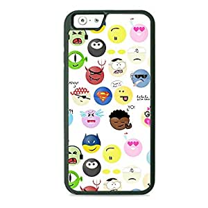Case Fun Case Fun Cartoon Faces TPU Rubber Back Case Cover for Apple iPhone 6 4.7 inch