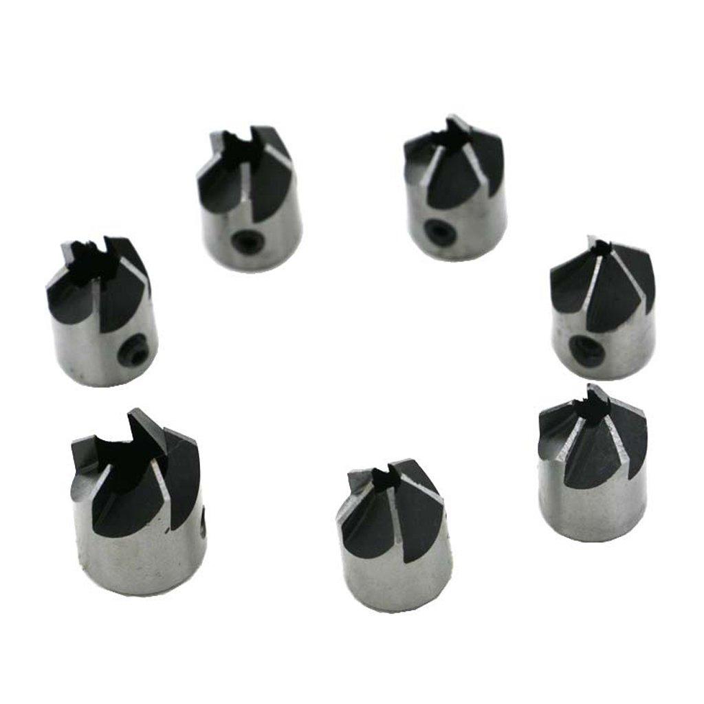 3-8mm Durchmesser perfk Senker Bohrer Set aus Metall