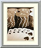 Framed Art Print 'Poker' by Boyce Watt
