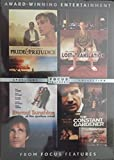 Focus Features Pack (The Constant Gardener, Eternal Sunshine of the Spotless Mind, Lost in Translation, Pride & Prejudice)
