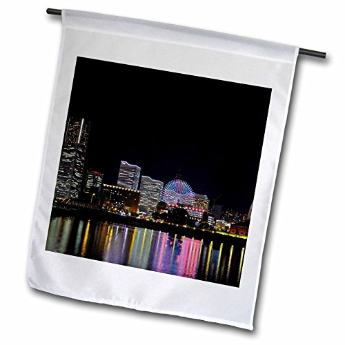 3dRose Cities Of The World - City Of Yokohama, Japan - 18 x 27 inch Garden Flag - Bayside Fl