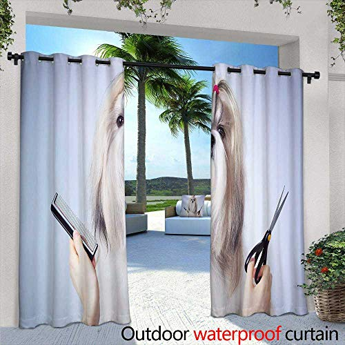 - Outdoor- Free Standing Outdoor Privacy Curtain,Set of Four Seamless Pattern With Leaf Abstract leaf texture, endless backgroundSeamless pattern can be used for wallpaper, pattern fills, web page back