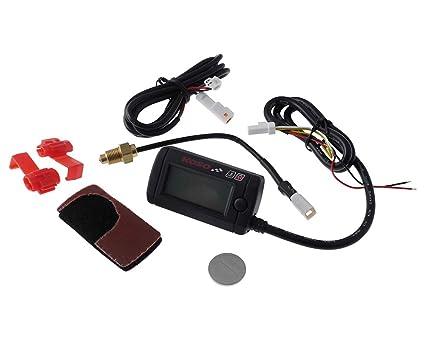 Misuratore di temperatura mini digitale illuminazione bianco