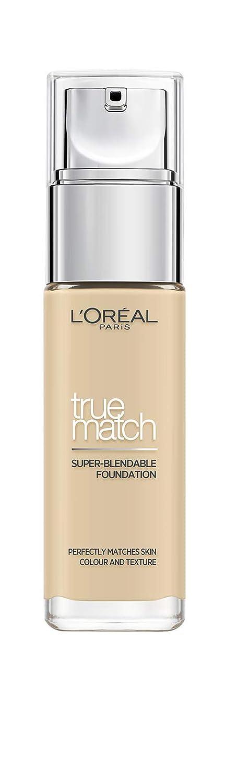L'Oreal New True Match Super Blendable Foundation 1.D / 1.W Golden Ivory 30ml