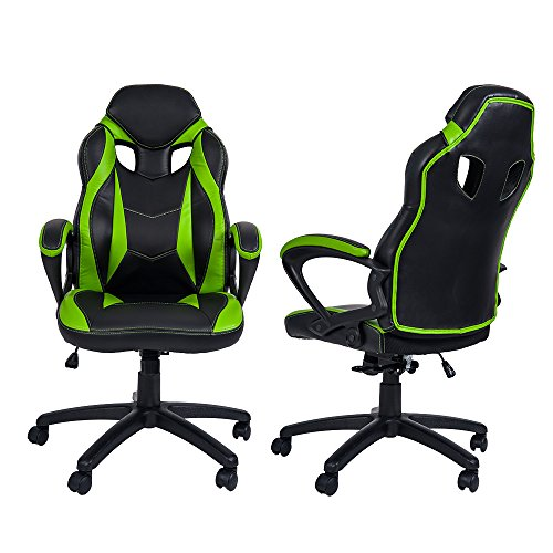 Merax Ergonomic Racing Style Pu Leather Gaming Chair For