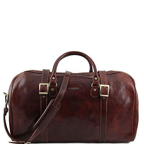 Brown Brown Man For Unique Leather Leather Taille Shoulder Tuscany Bag qwCxpRgnA