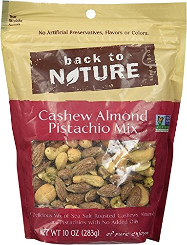 Back To Nature Cashew Almond Pistachio Mix - Pack of 2 by Back to Nature