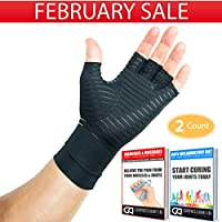 Compression Gloves Infused With Copper | Arthritis |...